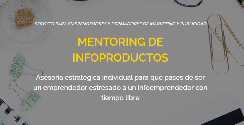 servicio mentoring infoproductos