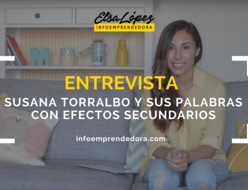 [Entrevista] Susana Torralbo y sus Palabras con Efectos Secundarios