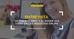 entrevista victoria lloret video