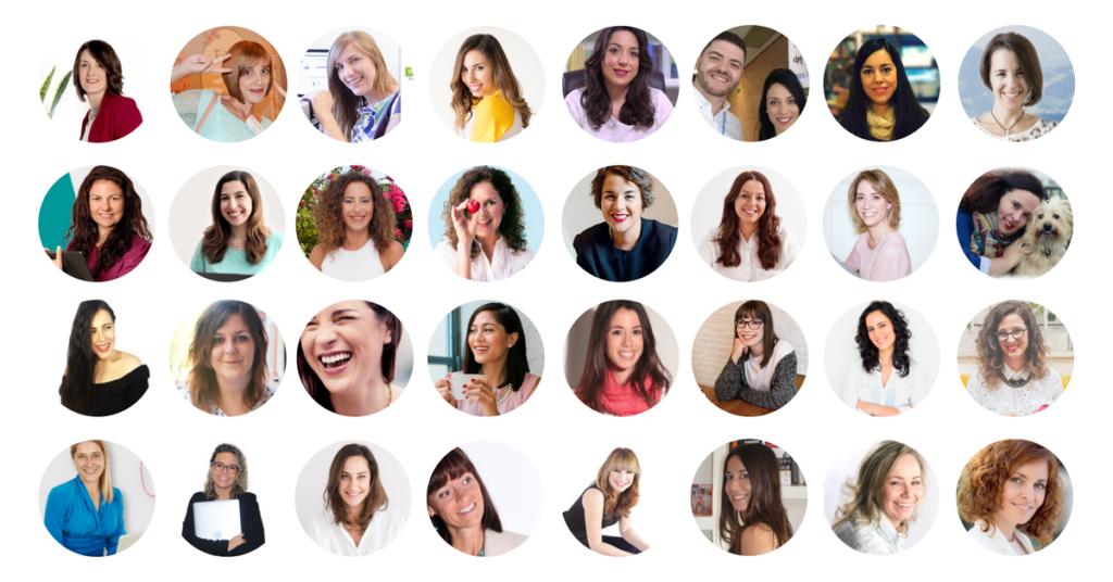 32 casos de éxito de emprendedoras creativas y de marketing