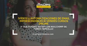 automatizaciones mailchimp cursos online