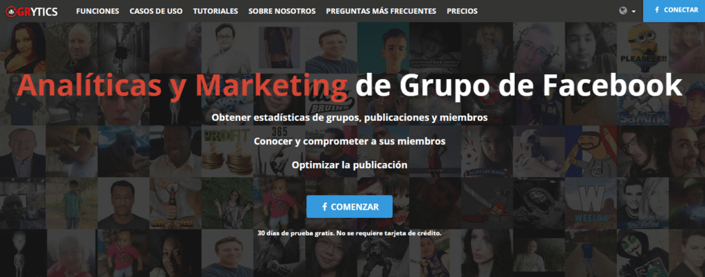 herramienta gestión grupos de facebook