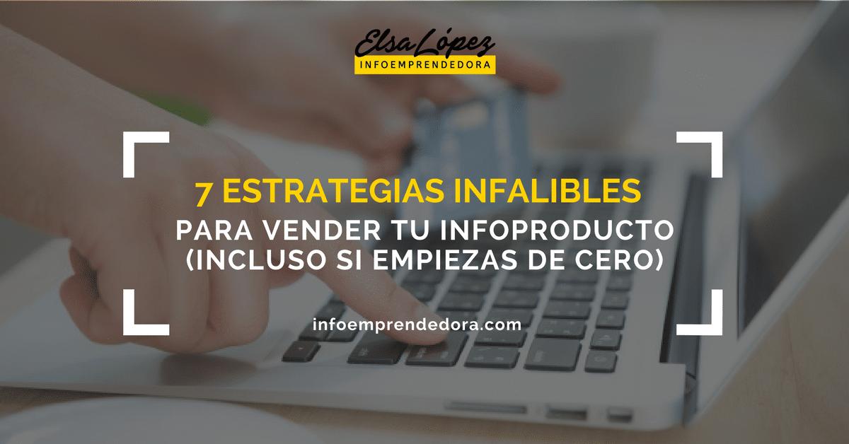 estrategias venta infoproducto