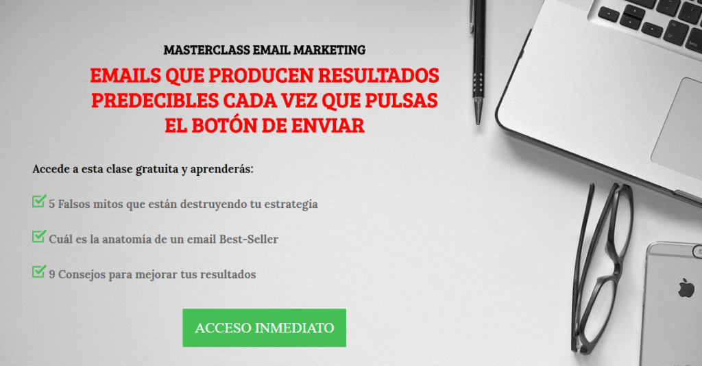 masterclass nestor marquinez email marketing