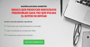 masterclass nestor marquinez email marketing