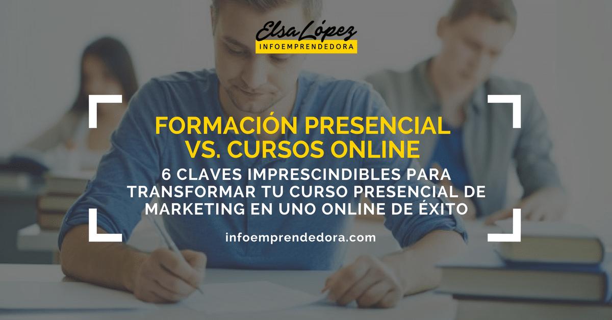 formacion online vs presencial