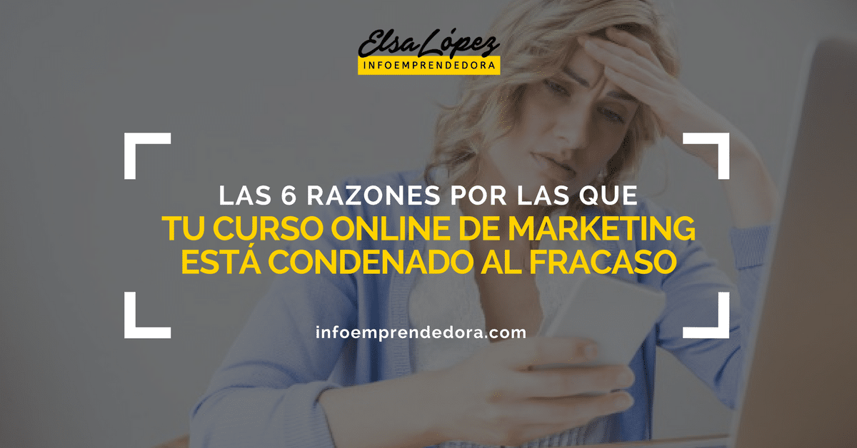 fracaso curso marketing