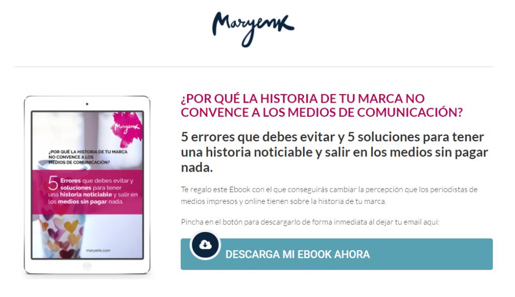 maryenk guia gratis storytelling medios comunicacion