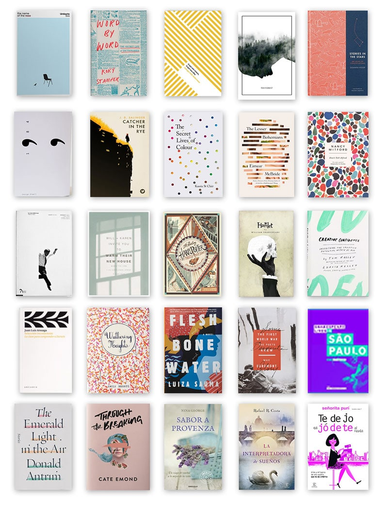 Portadas de libros para inspiración