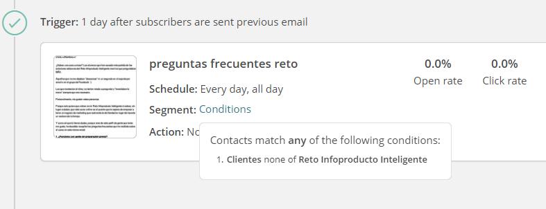 eliminar clientes mailchimp