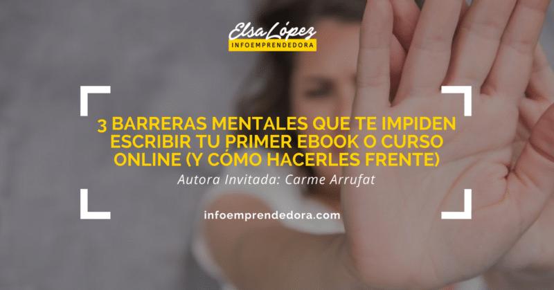 barreras mentales escribir un ebook curso online