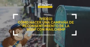 reconsentimiento rgdp mailchimp