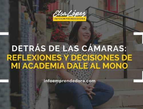 Detrás de las cámaras: Reflexiones y decisiones de mi academia Dale Al Mono