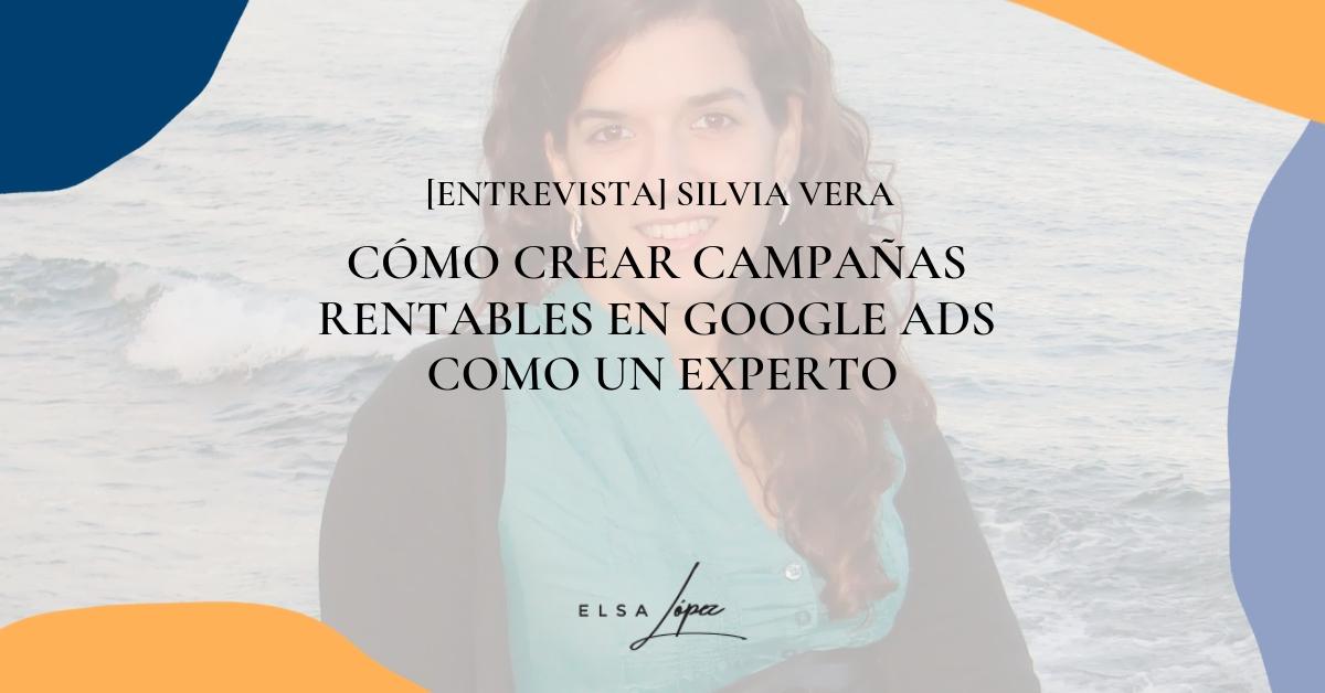 Silvia Vera google ads