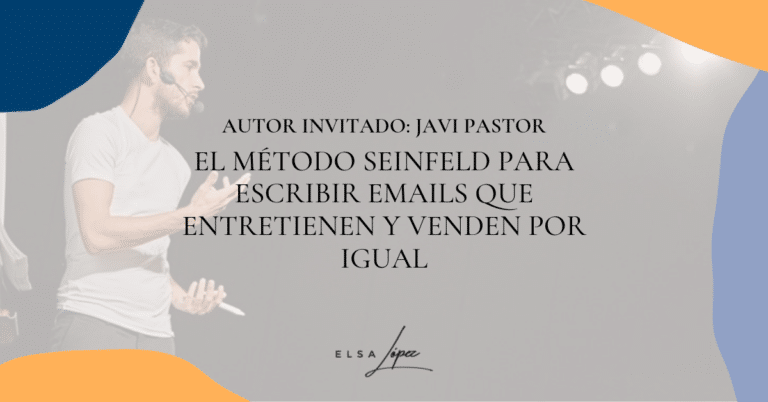 copy emails metodo seinfield javi pastor
