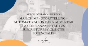 mailchimp storytelling automatizacion