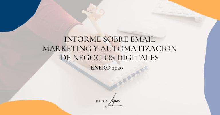 informe email mkt automatizacion enero 2020