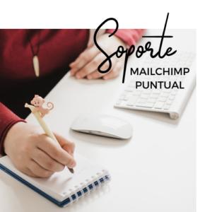 soporte mailchimp puntual