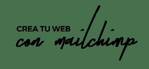 logo curso crea tu web con mailchimp transparente